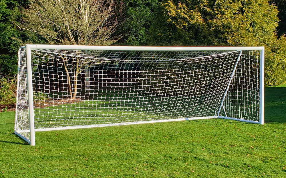 YOUTH FOOTBALL GOAL - Aluminium - 21 x 7